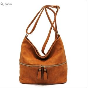 Handbags - NEW Fashion Zip Crossbody Bucket Satchel